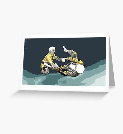 The Ground is my Ocean Part Three Greeting Card
