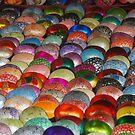 Laquerware bowls Hoi An Vietnam by Julie Sherlock