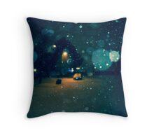 Snowstorm Throw Pillow