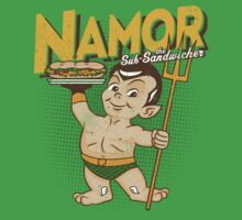 Namor The Sub-Sandwicher! by popnerd