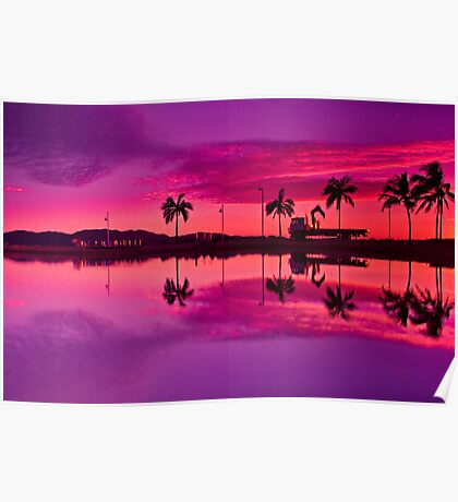 """""""Tropical Pastel Morn"""" Poster"""
