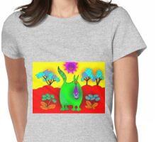 Colour my World Womens Fitted T-Shirt