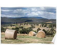 YarraValley Bales Poster