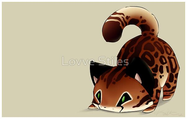 Chibi Cheetah by Lovve Stiles