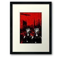 Nightmares from the Great War (1914 - 1918) - The Gas Framed Print