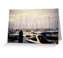 Harbor (1) Greeting Card