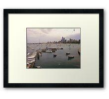 Harbor (2) Framed Print