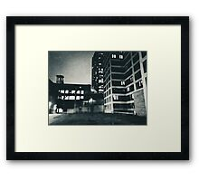 Architectural Abstraction Framed Print