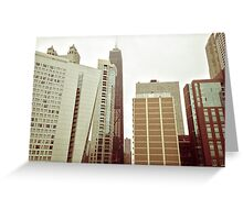 Building Tops Greeting Card