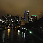 Chicago At Night by kalikristine