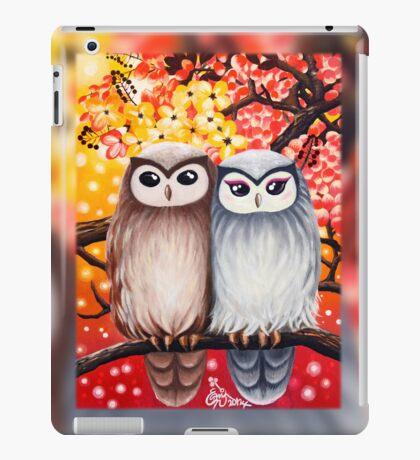 Cute Owls: iPad 2/ iPad (Retina Display) case iPad Case/Skin