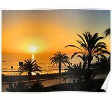 Gran Canaria Taurito Sunset Poster