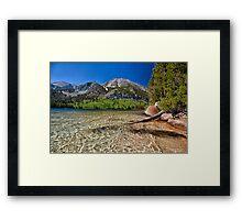 Davis Lake Framed Print