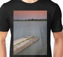 Sunset on the lakes of Mantua Unisex T-Shirt