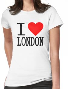 I love London Womens Fitted T-Shirt
