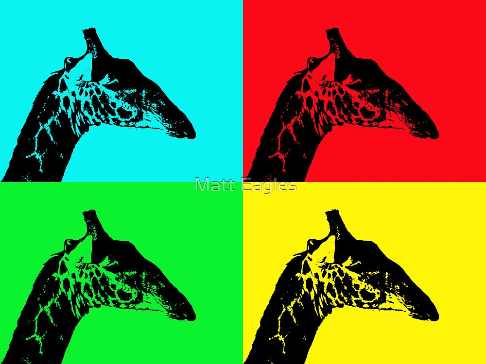 Giraffe by Matt Eagles