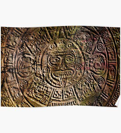 Mayan Calender Poster