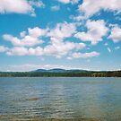 New Hampshire Lake by Paul Lubaczewski