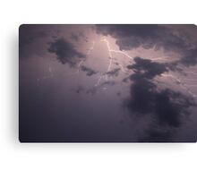 Lightning Quakes Canvas Print
