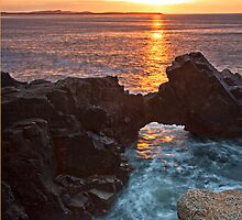 Bloody Foreland Sunset by Derek Smyth