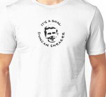 It's a goal, Duncan Shearer! Unisex T-Shirt