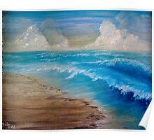 Summer Surf Poster