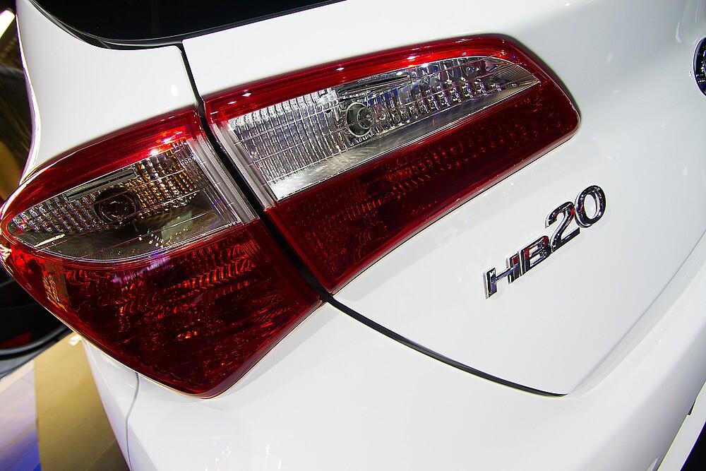 Hyundai HB20 Back Light [ Print & iPad / iPod / iPhone Case ] by Mauricio Santana