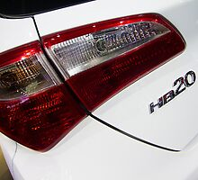 Hyundai HB20 Back Light [ Print & iPad / iPod / iPhone Case ] by Mauricio Santana