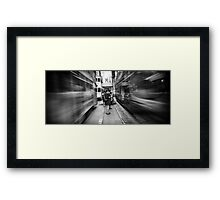 CITY BEAT Framed Print
