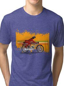 cafe racer mondial girl Tri-blend T-Shirt