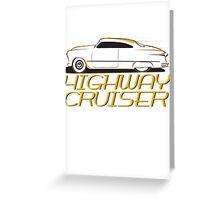 Highway cruiser... Greeting Card