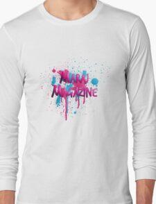 Maraj Magazine Splatter Tee Long Sleeve T-Shirt
