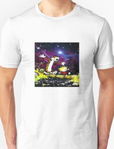 Calvin and hobbes happy Christmas T-Shirt