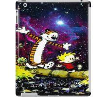 Calvin and hobbes happy Christmas iPad Case/Skin