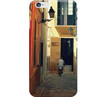 Get Away Cyclist iPhone Case/Skin
