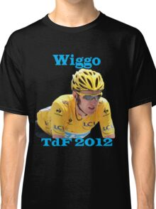 Bradley Wiggins - Tour de France 2012 Classic T-Shirt