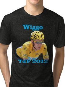 Bradley Wiggins - Tour de France 2012 Tri-blend T-Shirt