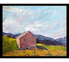 Grey Barn Photographic Print