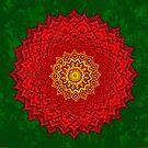 okshirahm rose mandala by peter barreda