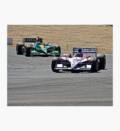 Competition in Turn 8 Photographic Print