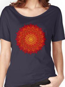 okshirahm rose mandala Women's Relaxed Fit T-Shirt