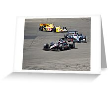 Competition in Turn 8 II Greeting Card