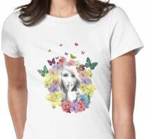 Secret Garden in Bloom T Shirt Womens Fitted T-Shirt