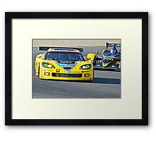 Corvette LeMans GT Framed Print