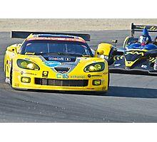 Corvette LeMans GT Photographic Print