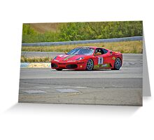 F430 Ferrari #11 Greeting Card
