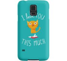 I Love You This Much Samsung Galaxy Case/Skin