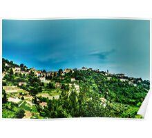 Panorama from Bergamo Poster