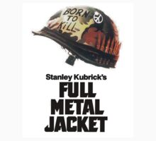Stanley Kubrick's Full Metal Jacket Movie Poster Kids Clothes