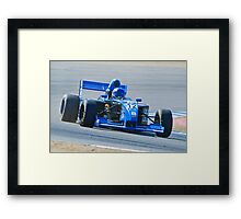 Indy Turn 2 Framed Print